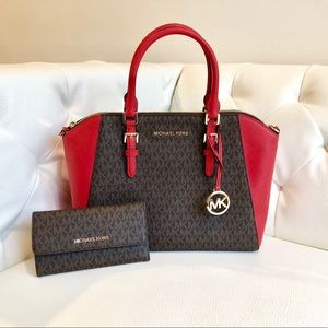 NWT Michael Kors Satchel and Wallet Set